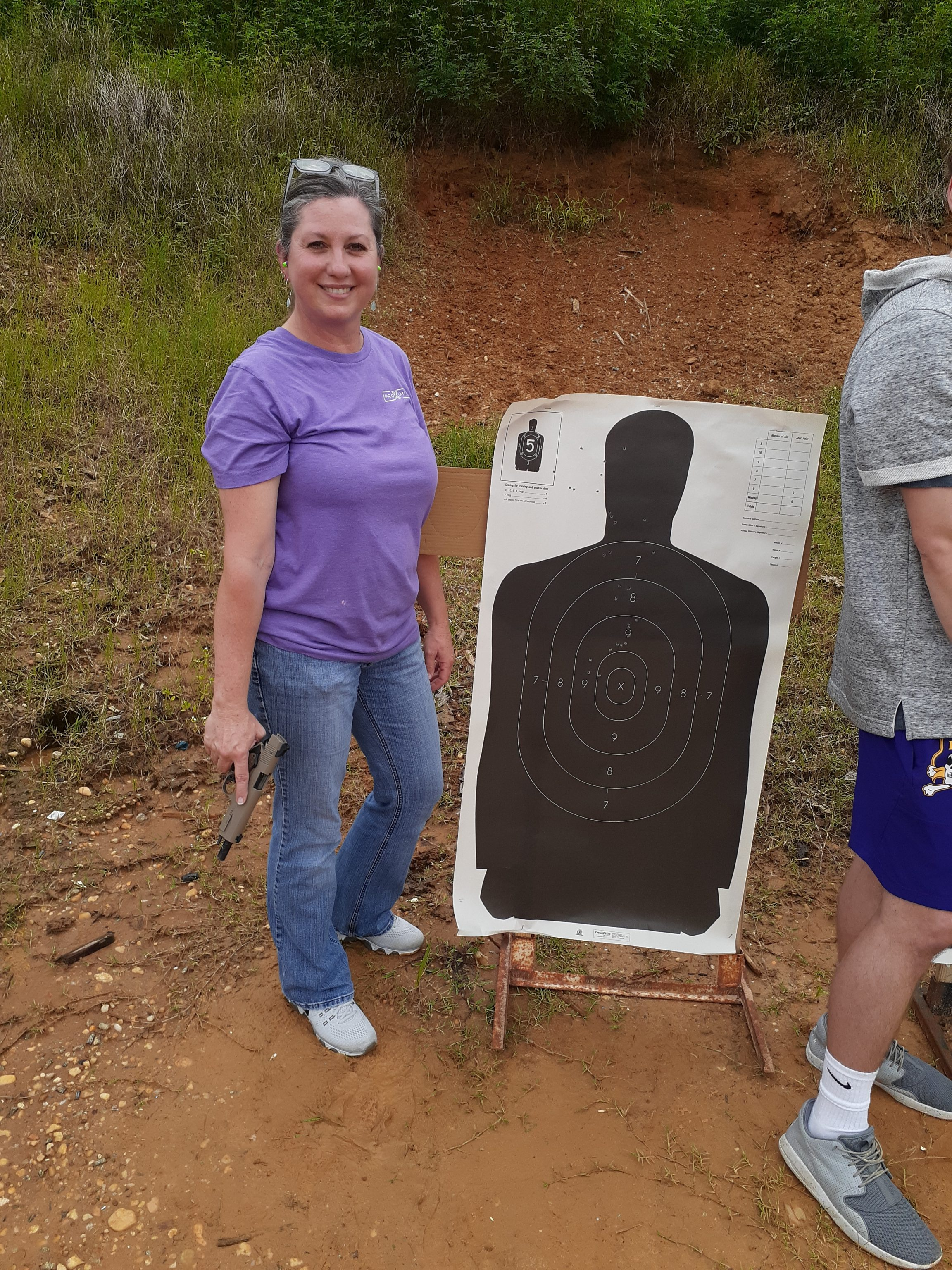"""(New) right-handed shooter. High hits """"learning the sights"""" not Magical Misdirection this time."""